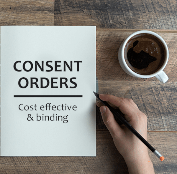 consent order lawyers perth